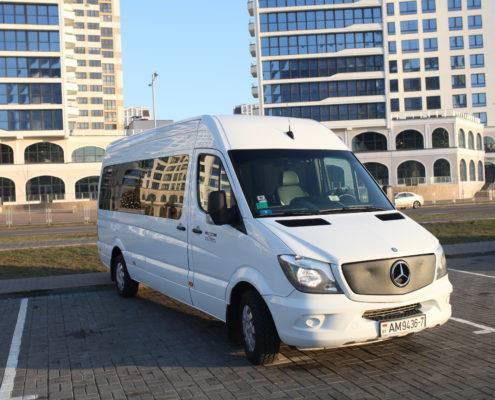 Аренда микроавтобусов в Минске