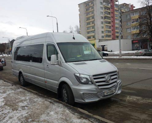 Аренда Мерседес Бенц Спринтер в Минске